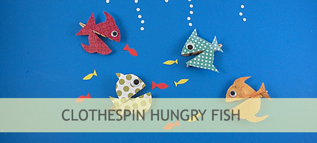 Clothespin Crafts: Hungry Fish