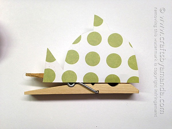How to make clothespin fish