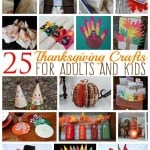 25 Thanksgiving Crafts for Adults and Kids, by Amanda Formaro of Crafts by Amanda