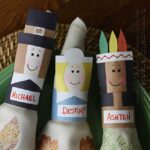 Thanksgiving Napkin Rings & Placecards
