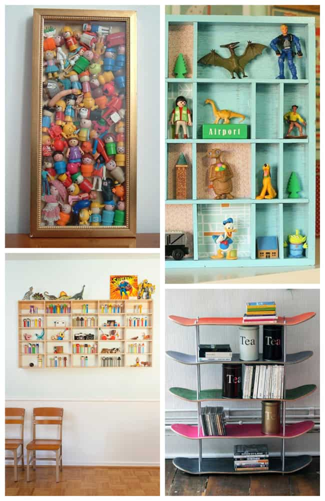 Organizing your kids' collections
