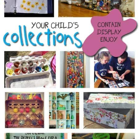 Kid's collections and how to keep them organized