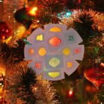 Faux Stained Glass Paper Snowflakes
