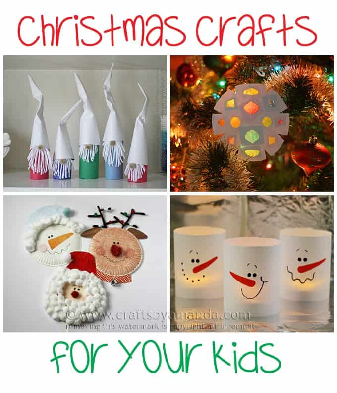 Christmas crafts for the kids by Amanda Formaro, Crafts by Amanda