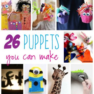 26+ Kid's Puppets You Can Make