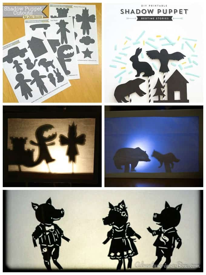 Shadow puppet DIY