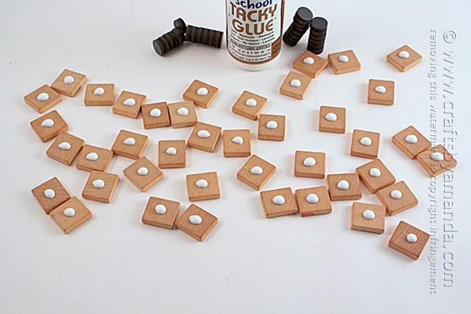 DIY Refrigerator Scrabble Game by Amanda Formaro, Crafts by Amanda
