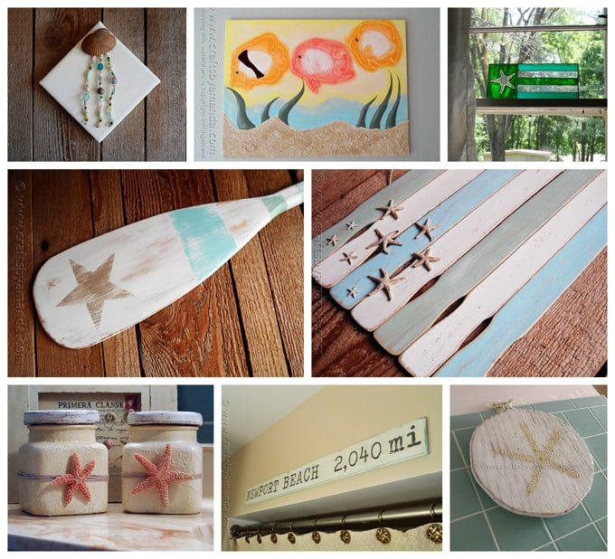 8 Beachy Projects for Your Bathroom, Amanda Formaro, Crafts by Amanda