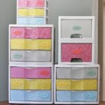 Makeover: Plastic Storage Drawers
