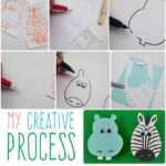 My Creative Process and How I Got Here by Amanda Formaro, Crafts by Amanda