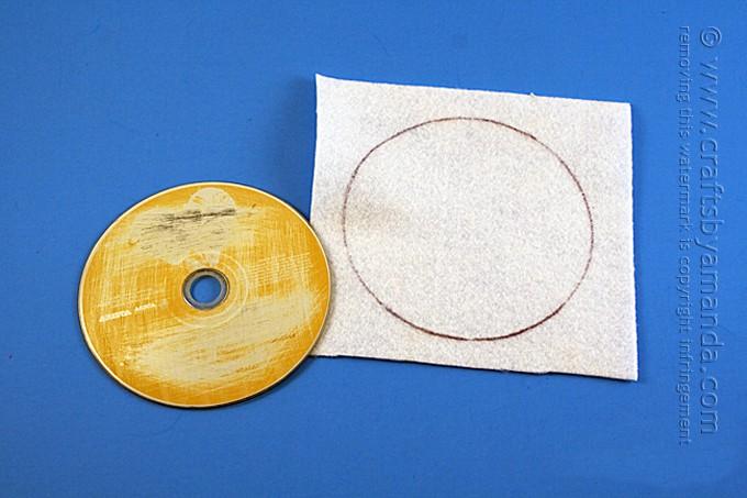 CD Olaf Craft from Frozen by Amanda Formaro, Crafts by Amanda