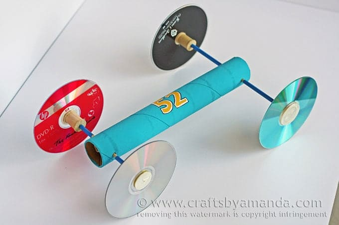 How to make a rubber band car for Best out of waste models