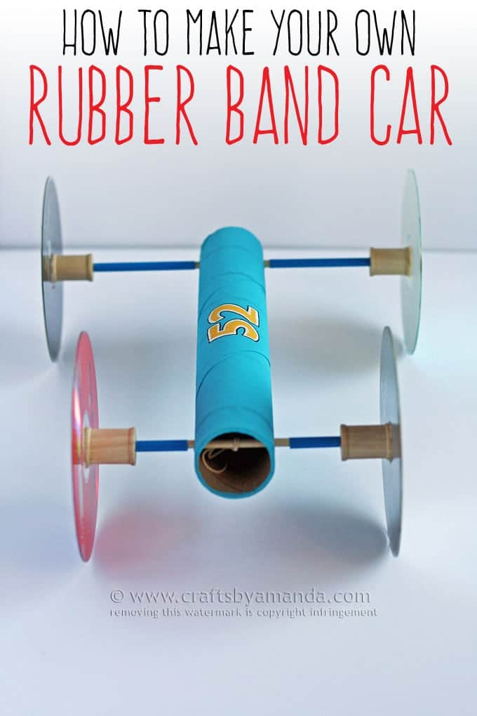 how to make a rubber band car. Black Bedroom Furniture Sets. Home Design Ideas