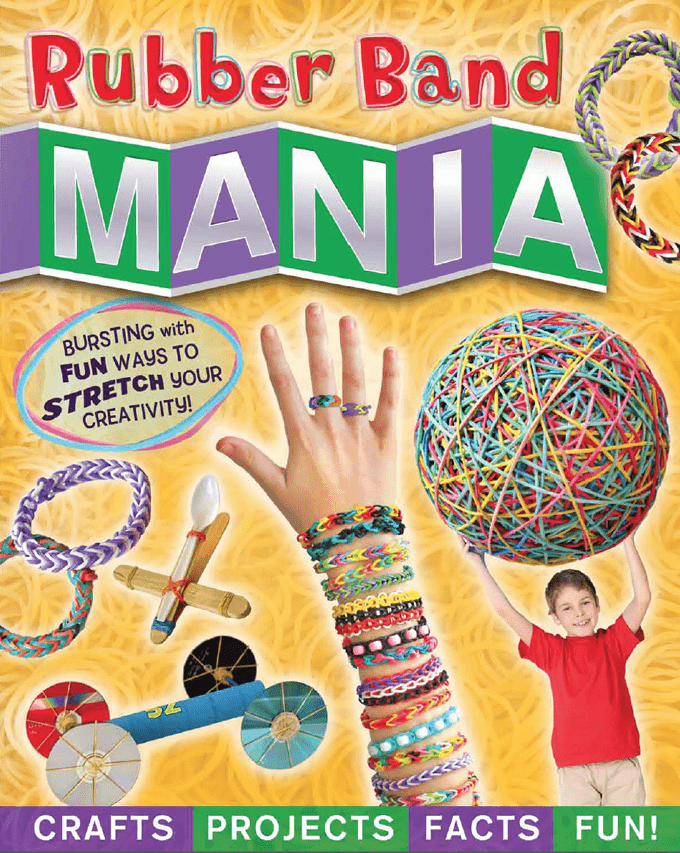 Rubber Band Mania by Amanda Formaro of Crafts by Amanda