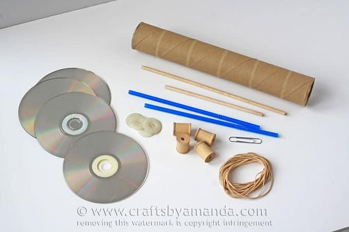 How To Build A Rubber Band Car 45