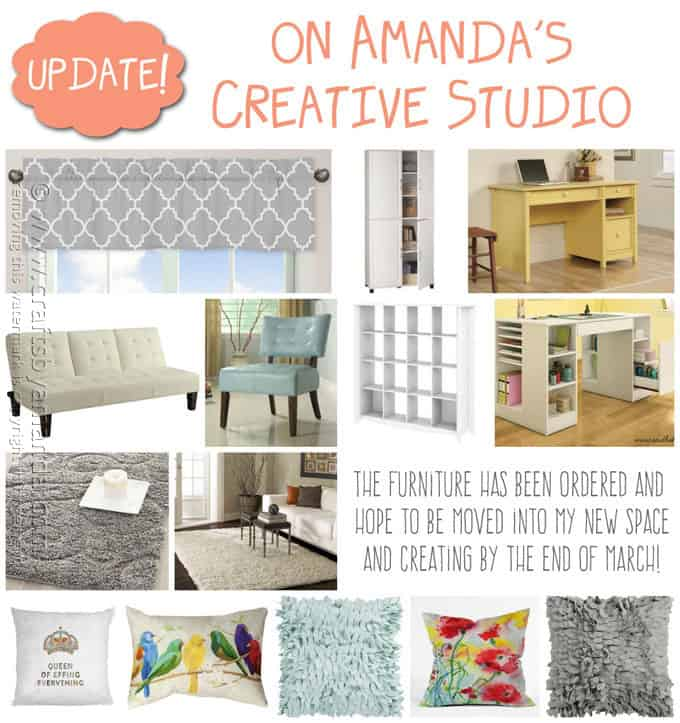 My New Craft Studio - Amanda's Creative Studio, Amanda Formaro - Crafts by Amanda