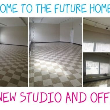 My New Craft Studio - Amanda's Creative Studio, Amanda Formaro - Crafts by Amanda