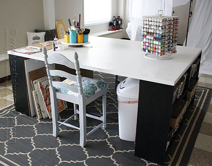 Craft Room Stool Makeover: Easy Reupholstering - Amanda Formaro, Crafts by Amanda