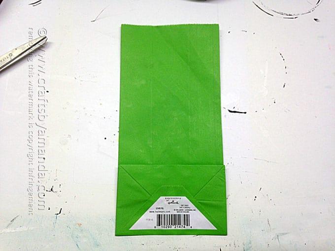 Avenger Craft: The Hulk Party Bag, Amanda Formaro - Crafts by Amanda