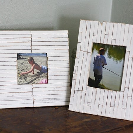 Beach Frames: Cottage Slat Style, Amanda Formaro, Crafts by Amanda