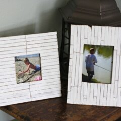 Beach Frames: Cottage Slat Style, Amanda Formaro, Crafts by Amanda