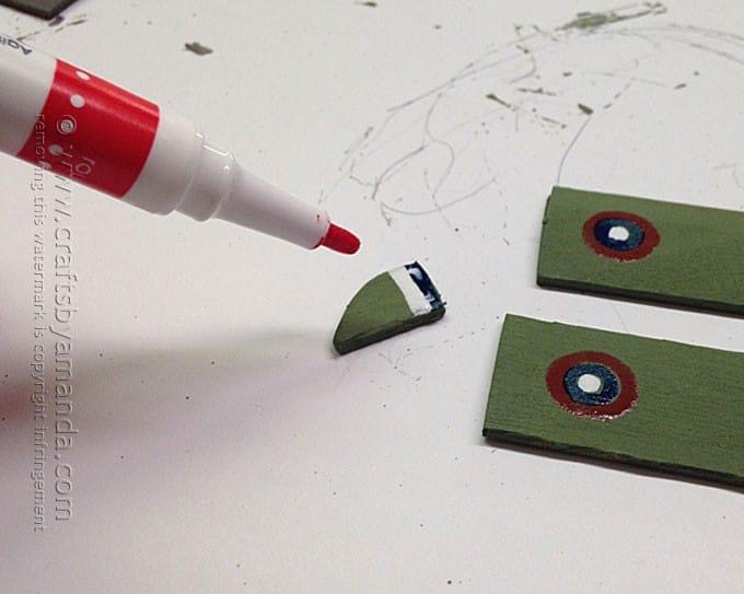 Military Clothespin Airplanes by Amanda Formaro, Crafts by Amanda