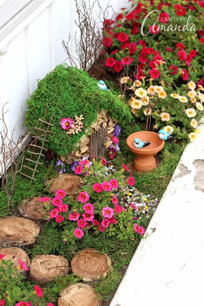 Fairy garden how to start one of your very own How to make a small garden