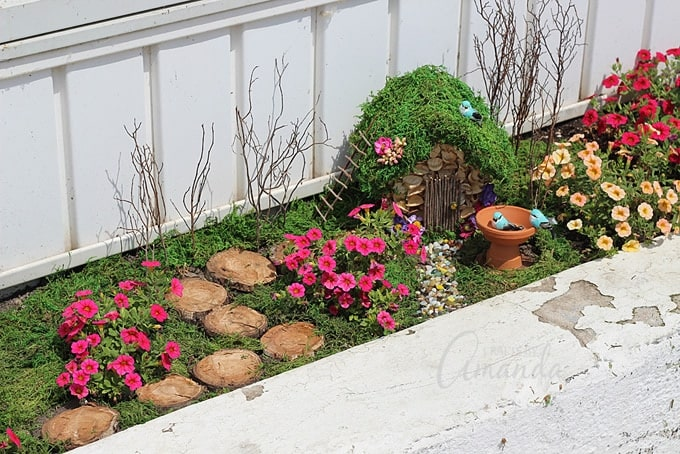 How to start a fairy garden in your flower bed