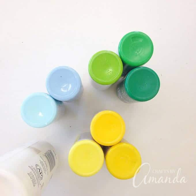 paint colors used