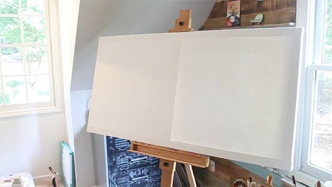 Ideal DIY Canvas Wall Art Ideas canvas tutorials