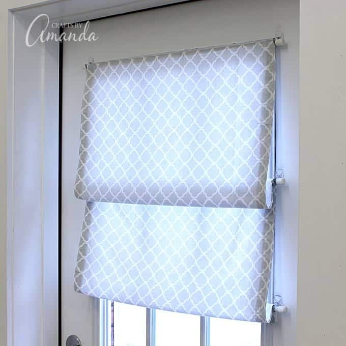 No sew roman shade for those who don 39 t sew Window treatment ideas to make