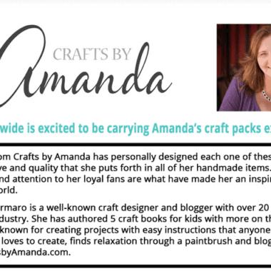 Announcing: Crafts by Amanda Craft Kits!