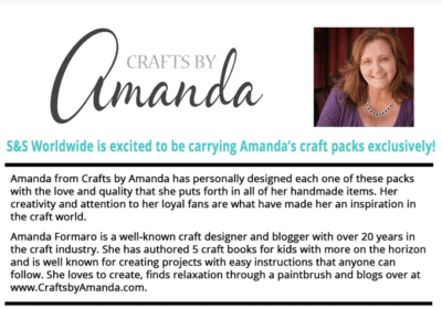 Announcing: Crafts by Amanda Craft Kits!