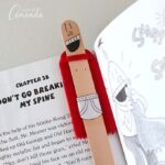 Captain Underpants Craft Stick Bookmark
