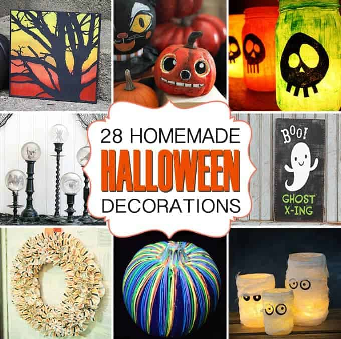 28 homemade halloween decorations if you are looking for crafty ways to decorate for halloween - Homemade Halloween Party Decorations