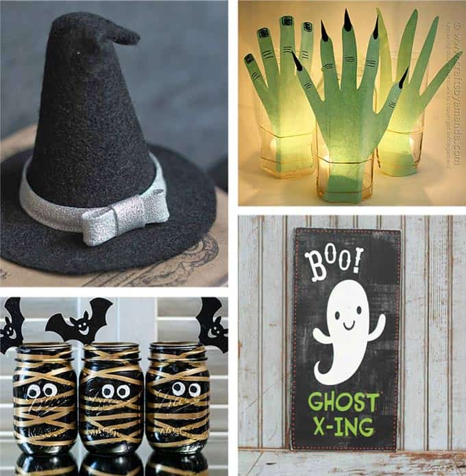 28 homemade halloween decorations if you are looking for crafty ways to decorate for halloween - Cute Cheap Halloween Decorations