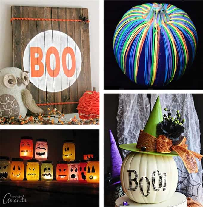 DIY Halloween Decorations Ideas