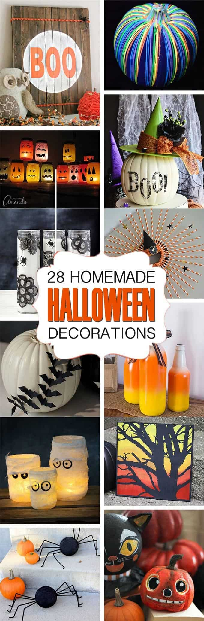 Crafty Halloween Decoration Ideas