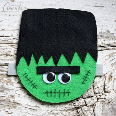 Cd Frankenstein Craft Fun Halloween Craft For Kids