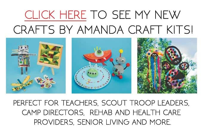 Crafts by Amanda craft kits, by Amanda Formaro