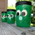 Frankenstein Luminaries for Halloween