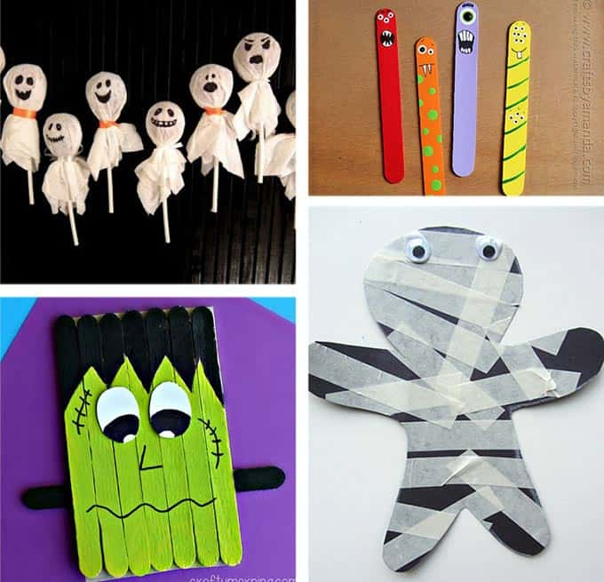 37 halloween party ideas crafts favors games treats How to make easy halloween decorations at home