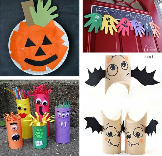 37 halloween party ideas crafts favors games treats for Halloween party favor ideas