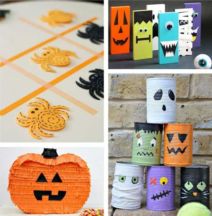 37 halloween party ideas crafts favors games treats Diy halloween party decorations