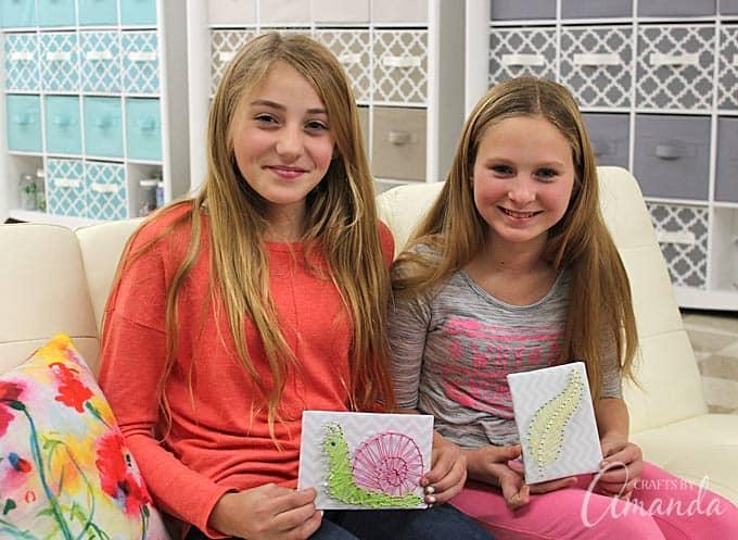 String Art: Gifts Kids Can Make