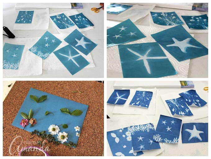 different ways to use sun print paper