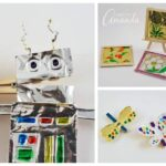 Clothespin Foil Crafts for Kids