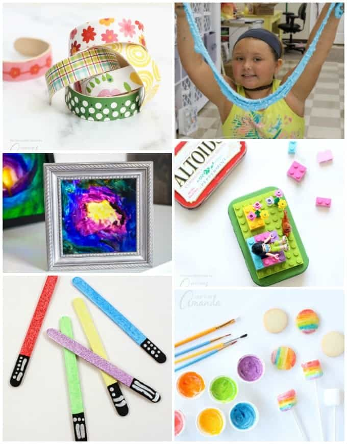 Colorful Party Crafts for Kids