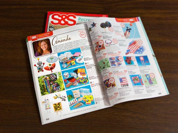 Find Amanda Formaro's Crafts by Amanda craft kits in this catalog from S&S Worldwide!