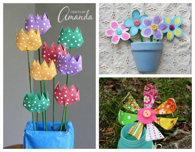 Colorful Kids Crafts More Than 55 Craft Ideas